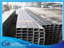 low cost Top supplier sch40 black steel pipe/Manufacturer 65x65mm