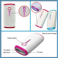 low cost 4000mah Mobile power bank OEM for iphone and samsung and tablet