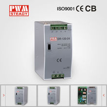 Steady CE approved ac dc DR-120-24 24v 5a computer power supply