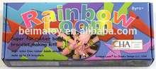 banda de goma kit telar del arco iris telar bandas kit para los niños de bricolaje