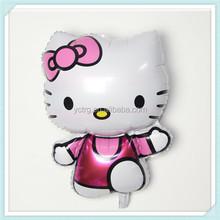 Hello kitty baby love cartoon promotional foil balloon
