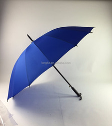 16 ribs solid color straight umbrella