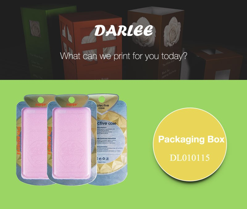 electronic packaging color box