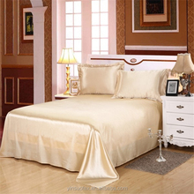 Luxury chinese silk bed sheet