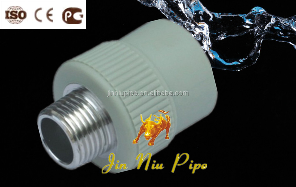 Din ppr fittings male and female threaded socket
