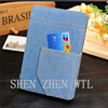 commerce grade leather flip wallet case cover for ipad air 2