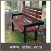 FW35 Fixed Outdoor Non Folding Bench Chairs made of Teak Wood Material