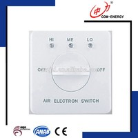 3 speed fan switch, switch control used in room
