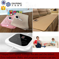Healthcare zero radiation household electric blankets for heating bed/sofa