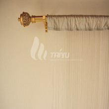 Single-color Balled Beaded String Curtains