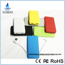 New arrivel high quality power bank 6600mAh portable external battery charger power pack for all mobile phone cheapest