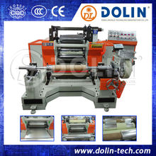 simple automatic plastic adhesive bopp tape slitting machine