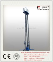 Indoor or outdoor Electric hydraulic single pole car lift
