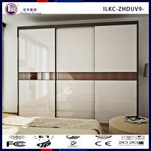 wooden wardrobe cabinet closet sliding doors