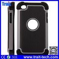 Cover Para iPod Touch 4, Dual Desmontable de Plástico+Siliconas Case Funda para iPod Touch 4
