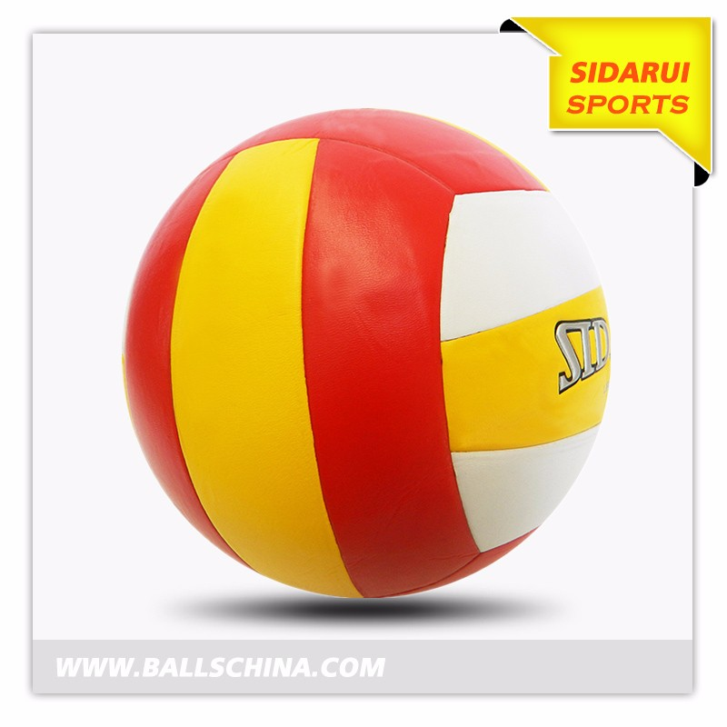 China professional Manufacturer Custom logo and color rubber volleyballS-3602----2