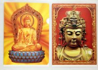 3D Plastic FOLDER 3D BUDDHA PICTURE
