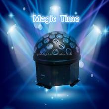 home party disco lighting 1*20w Big Crystal music light DMX512 RGB digital timing light