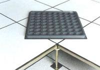 Steel raised floor with hpl