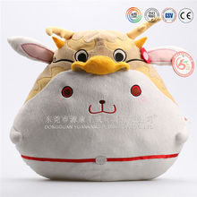 customize Cute little car neck deer pillow