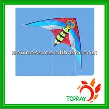 New printed large dual line parafoil stunt kites