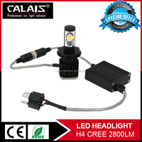 NEW design Auto Led Headlight 30W 2800LM 5000K canbus car led bulb h4