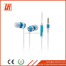 2015 newest design shenzhen manufacturer supply stereo Earphones with microphone earbuds for Iphone