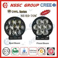 Best Price!!NSSC 4x4 drive farm mini traktor led work light led driving lights 70w with lifetime warranty