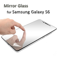 New products from China wholesale mirror screen protector for samsung S6(Samples order)