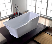 Hot selling lowes walk in shallow bathtub with shower