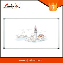 2015 Zhe Jiang Red Sun lucky star whiteboard sheet self adhesive with mini whiteboard marker pen with chain