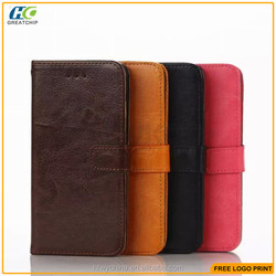 Wallet Luxury Genuine leather case for iphone 6s,for iphone 6s leather case