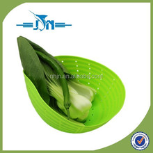 Kitchenware Foldable Design Silicone Custom steamer Basket for seafood and vegetables