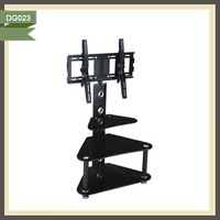 home furniture closed cabinet iron pipe tv stand