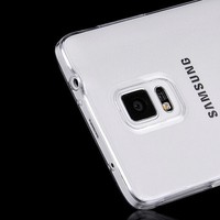Case For Samsung Galaxy Note 4 Phone Soft TPU Material clear