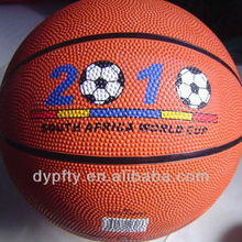 customize your own rubber basketball balls size 7#