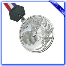 Lowest price zinc alloy nickel sports medal