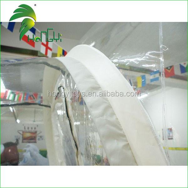 inflatable Transparent tent. (2)