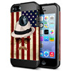 Hot Selling PC+TPU Case for iPhone 5 5S Colorful 2 in 1 Case