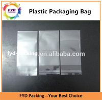 Wholesale Transparent Poly Plastic Packing Bag With Self Sealed