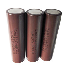Lg hg2 brown 18650 battery inr18650 hg2 3000mah 3.7v lgdbhg21865 3000mah