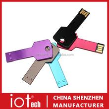 Cheap Gift Metal Key Style/Shape Custom USB Memory Drives