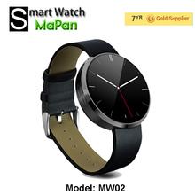Nueva llegada inteligente relojes teléfono, precio de fábrica android reloj juego de la ayuda de música