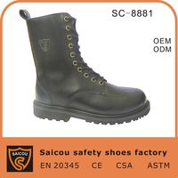 China steel toe us army desert boots factory (SC-8881)