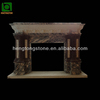 Aritificial Marble Indoor Used Fireplace Mantel