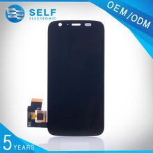 Good reputation cell phone parts replacement lcd display touch digitizer screen assembly for motorola moto g tested one by one