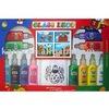Window art paint set for children
