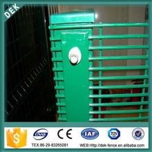 358 pvc coated rabbit high security fence