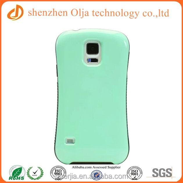 Olja small waist plastic case for samsung galaxy s5, blank phone case for samsung galaxy s5