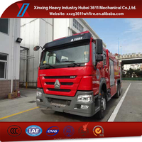 Hot New Products for 2015 Foam Liquid Supply 6*4 Size Of Fire Truck